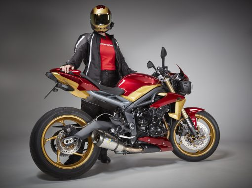 Street Triple Superhero Edition