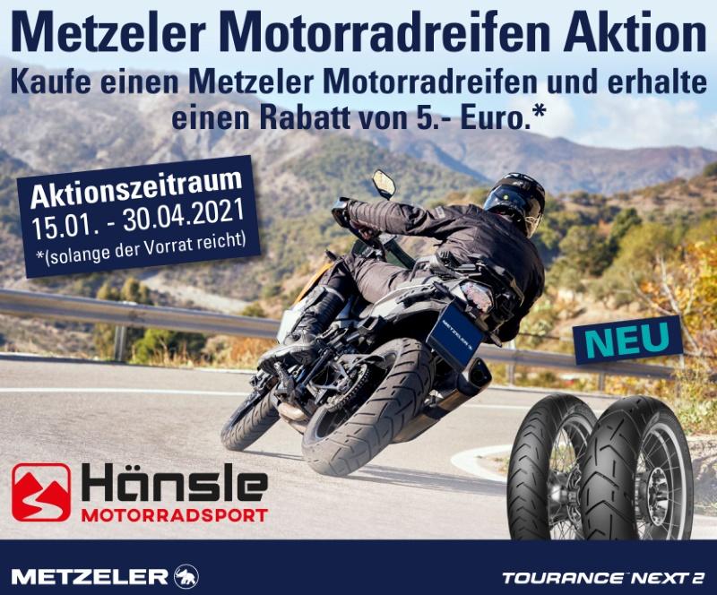 Metzeler Motorradreifen Aktion
