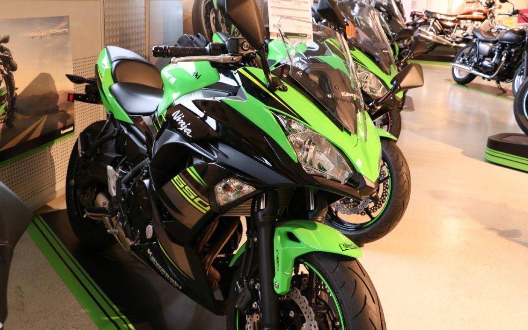 Kawasaki Aktionsmotorräder bis 28.12.2019